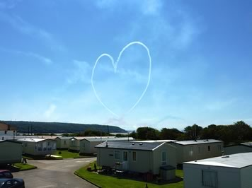 Red Arrows Sand Bay - caravan park
