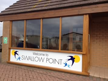 Sand bay caravan park reception