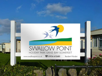 Swallow Point holiday park - entrance